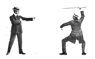 Stances in Bartitsu – Canonical